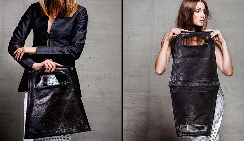 13&9 Design_GEOMETRIC COLLECTION BAGS_HEXAGON HANDBAG_WOMEN_detail®Markus_Mansi_MOMA