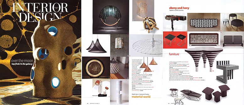 2014 INTERIOR DESIGN MAGAZINE Collage